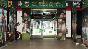 Arch Completed for Saints v Saracens