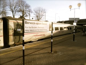 Berwick Station Goes Back In Time!!