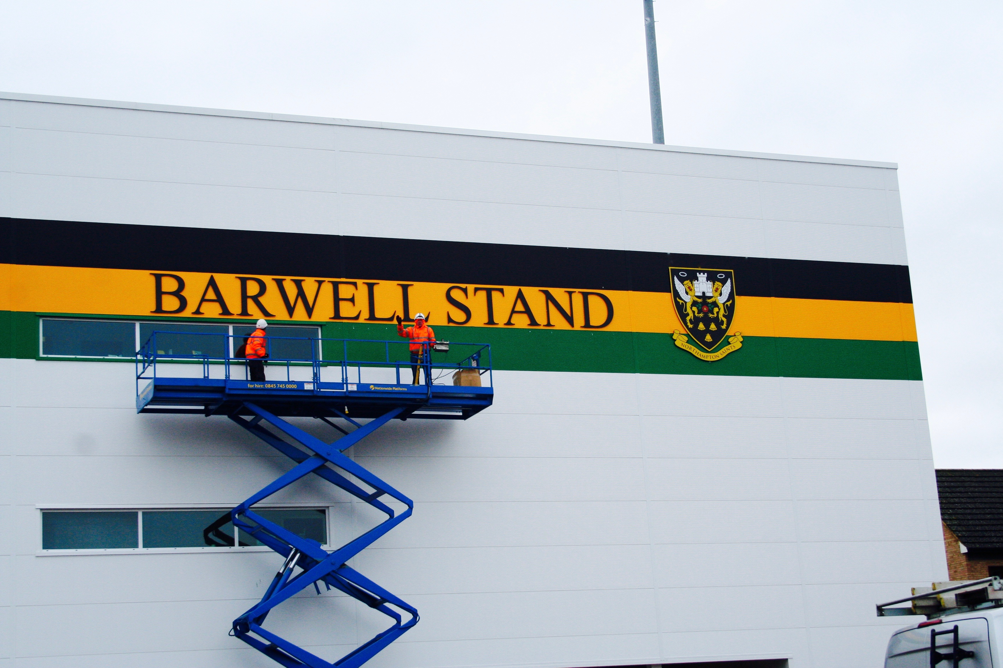 BARWELL STAND SIGN