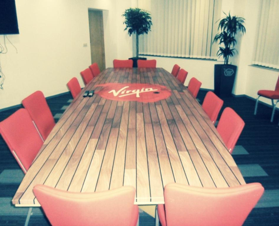 Virgin Head Office Rebrand