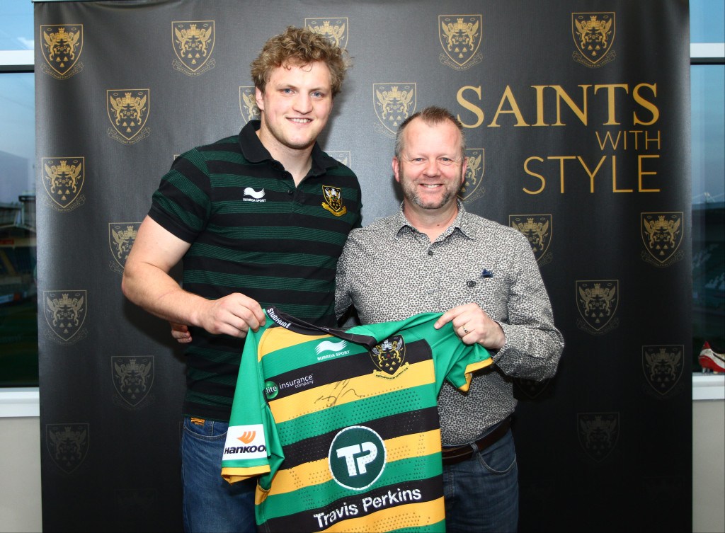Proud Sponsors of Jamie Gibson Northampton Saints