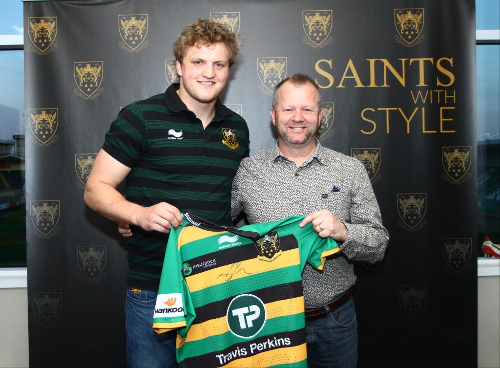 Proud Sponsors of Jamie Gibson Northampton Saints