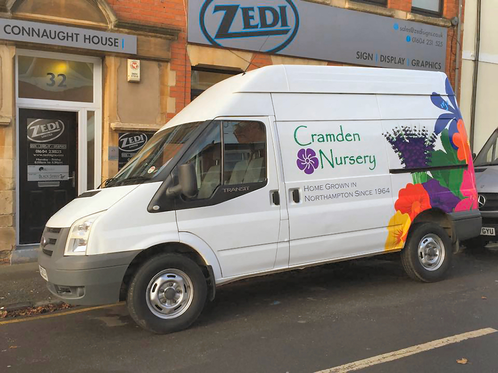 Cramden Nursery vehicle graphics