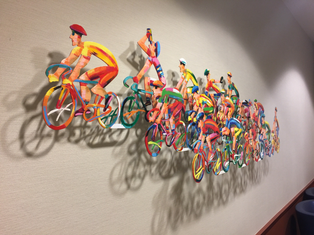 Cyclists interior sign