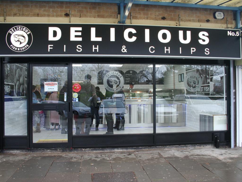 Delicious shop front