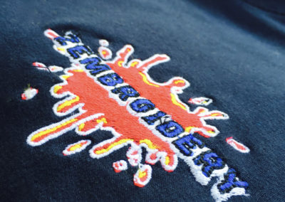 Embroidered logo 2