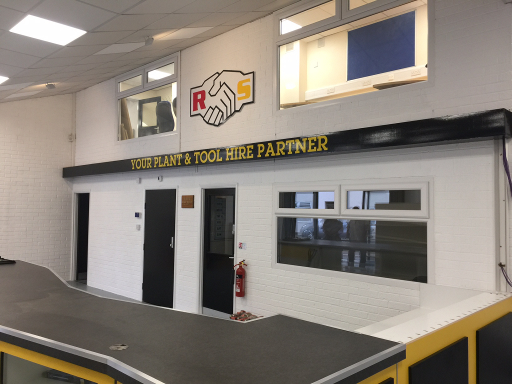 RS interior sign