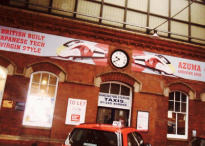 Rail station banners 2