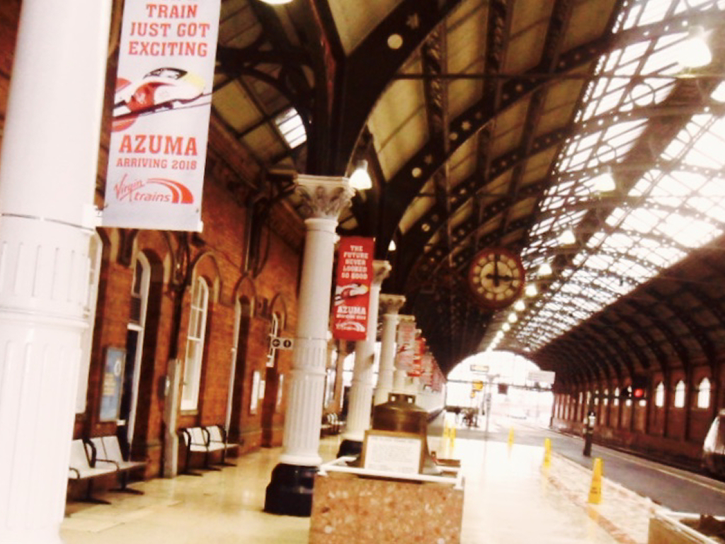 Rail station banners 3