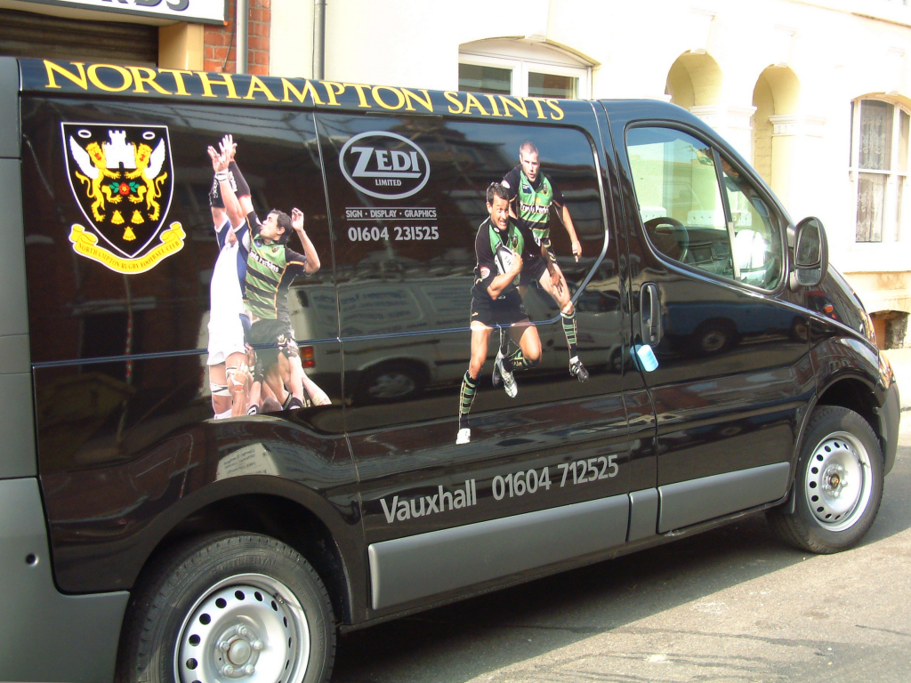 Saints van