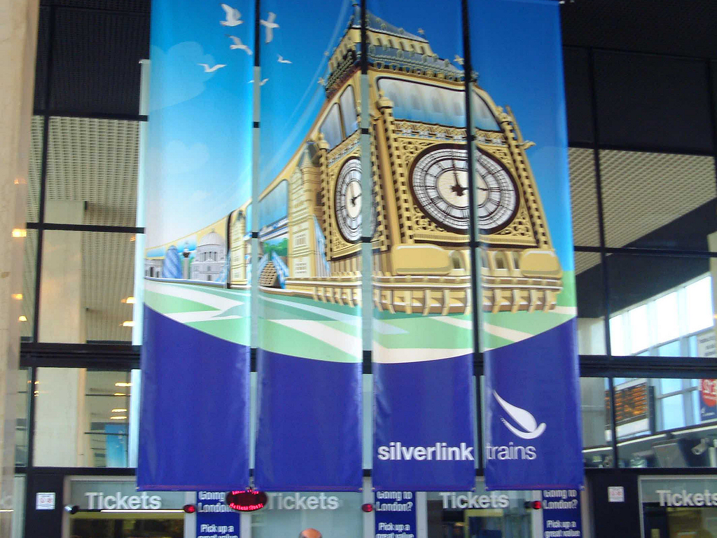 Silverlink Trains banner