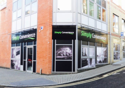 Simply Convenience external signage