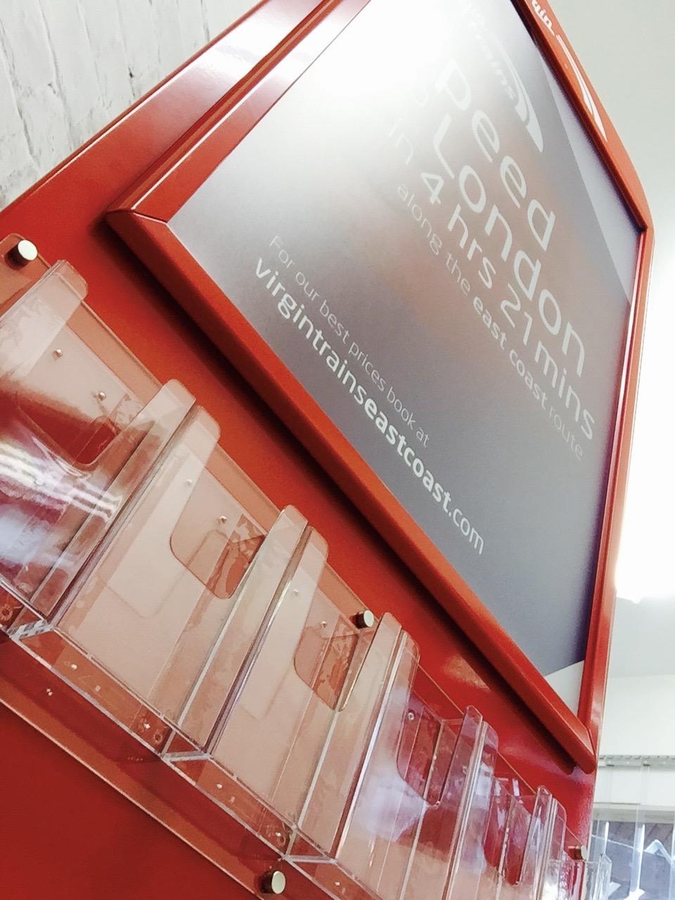 Virgin Trains mobile display 4