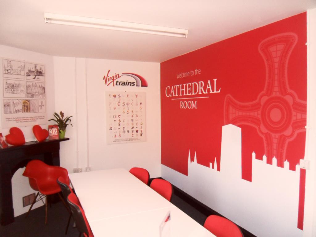 Virgin interior sign 1